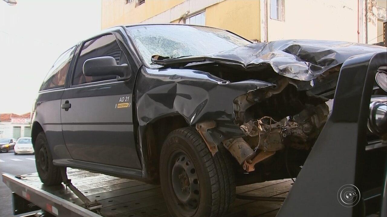 Polícia apreende carro que arrastou moto por três quilômetros em Marília