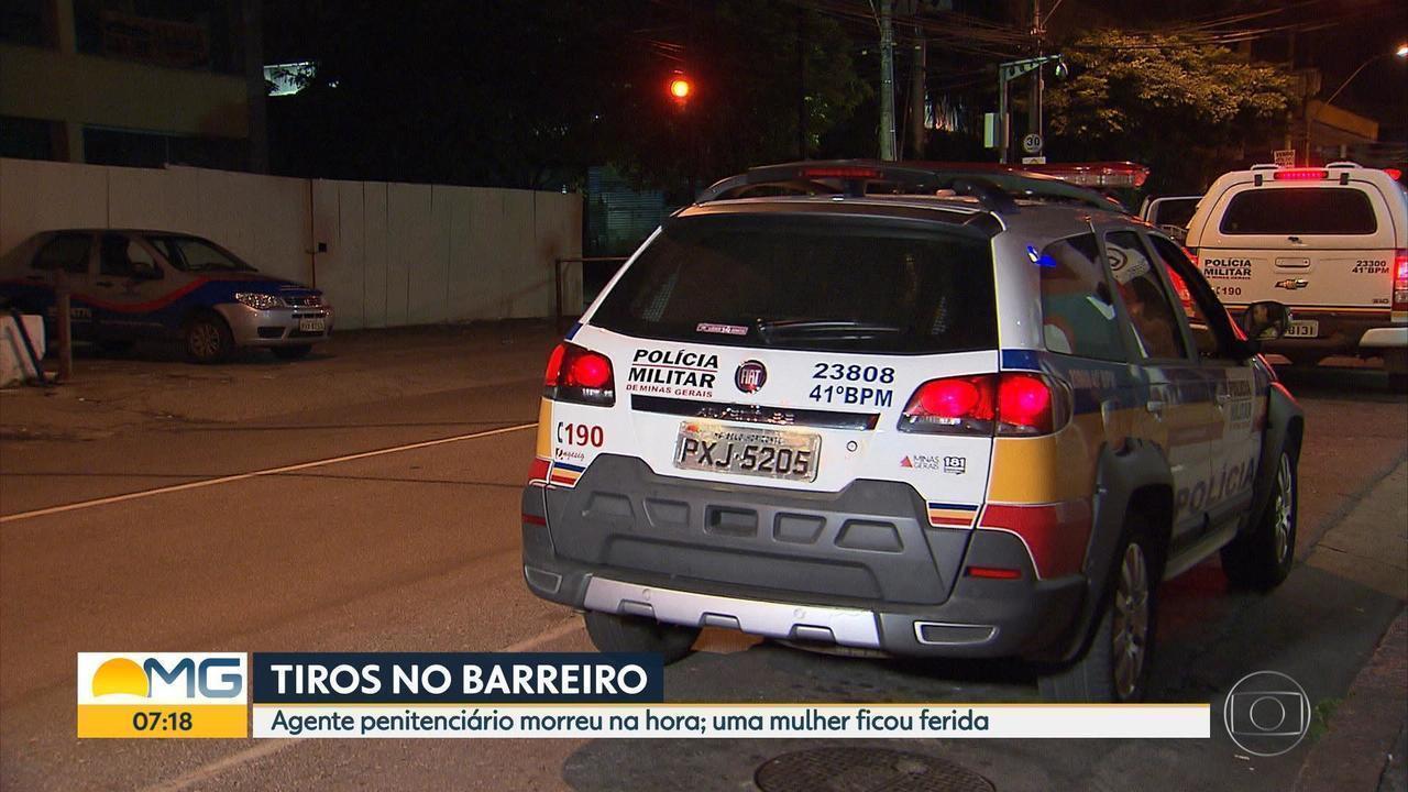 Agente penitenciário é morto a tiros na Região do Barreiro, em Belo Horizonte