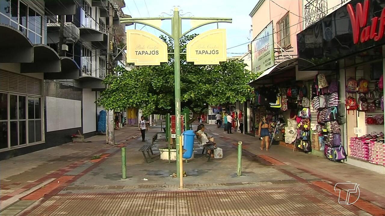 Empresários se unem para construção de base fixa da PM no centro comercial de Santarém