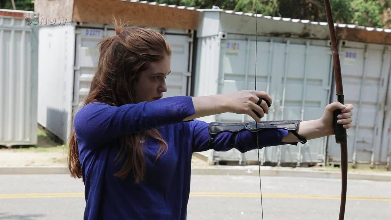 Veja como foram as aulas de arco e flecha de Marina Ruy Barbosa