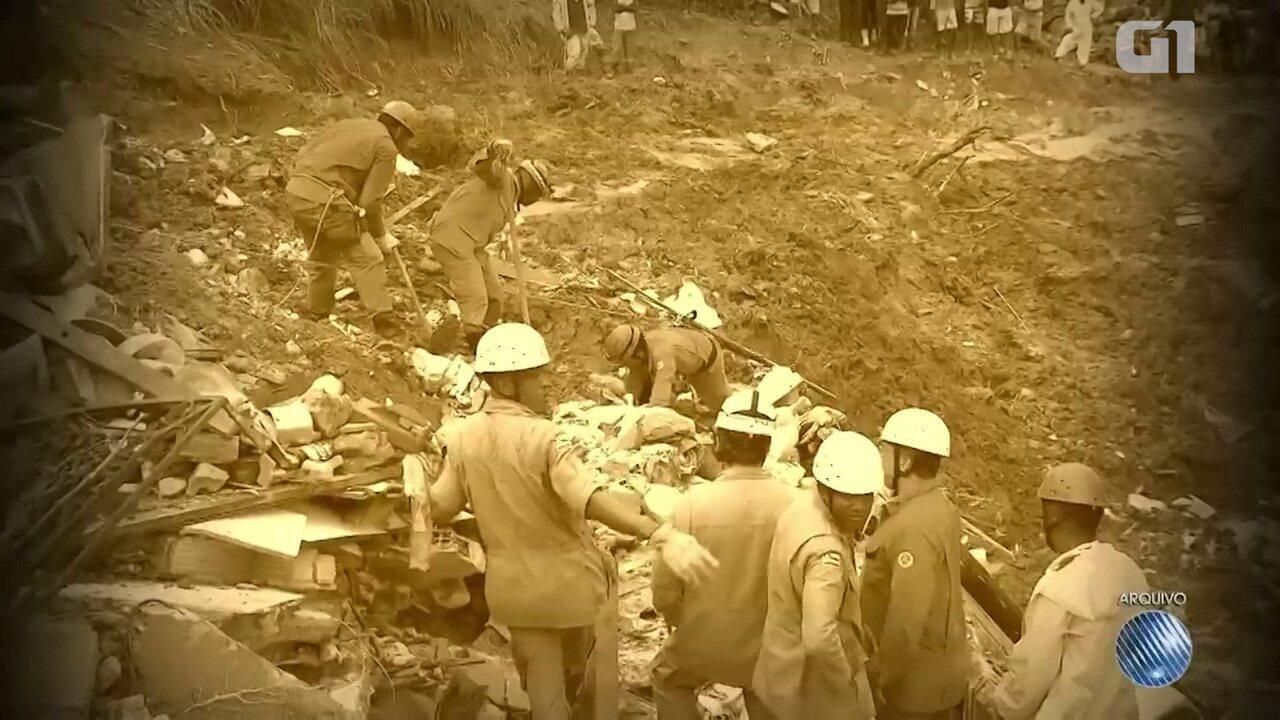 Arquivo: relembre os deslizamentos do Barro Branco e do Marotinho
