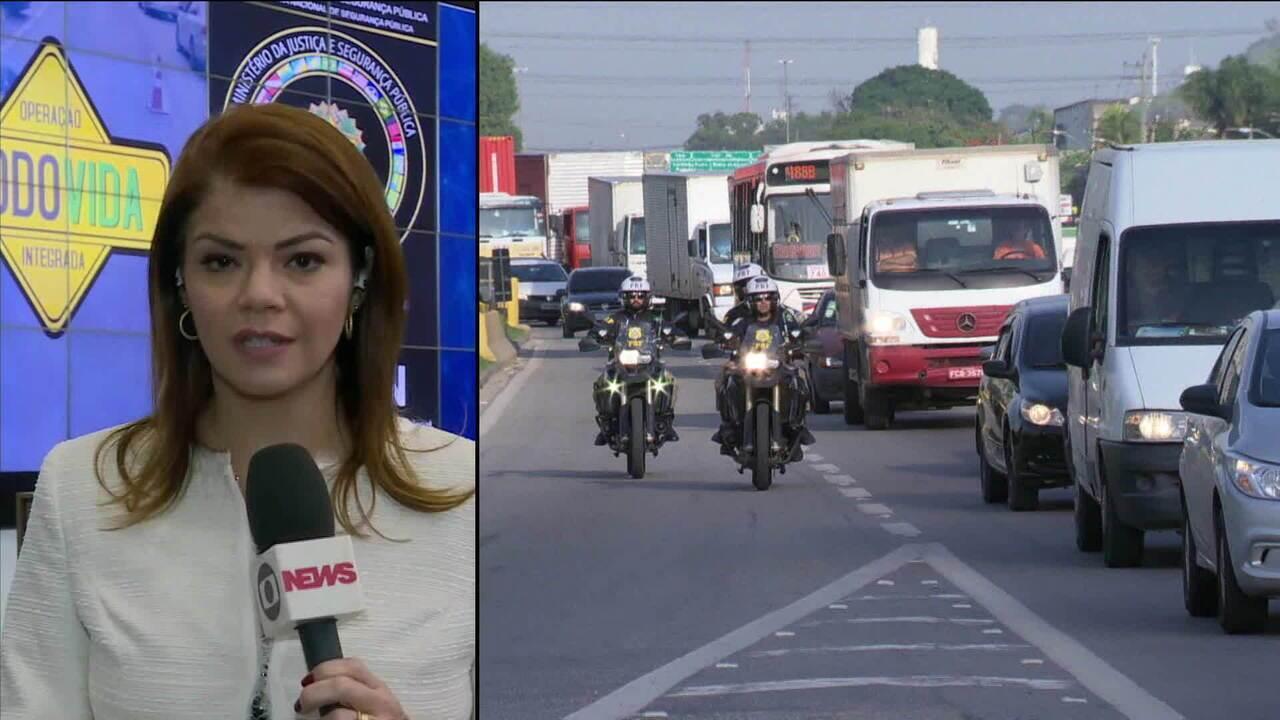 Número de acidentes nas estradas diminuiu, diz balanço