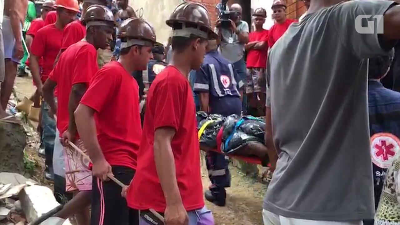 Tragédia em Pituaçu: Corpo de diarista é resgatado dos escombros