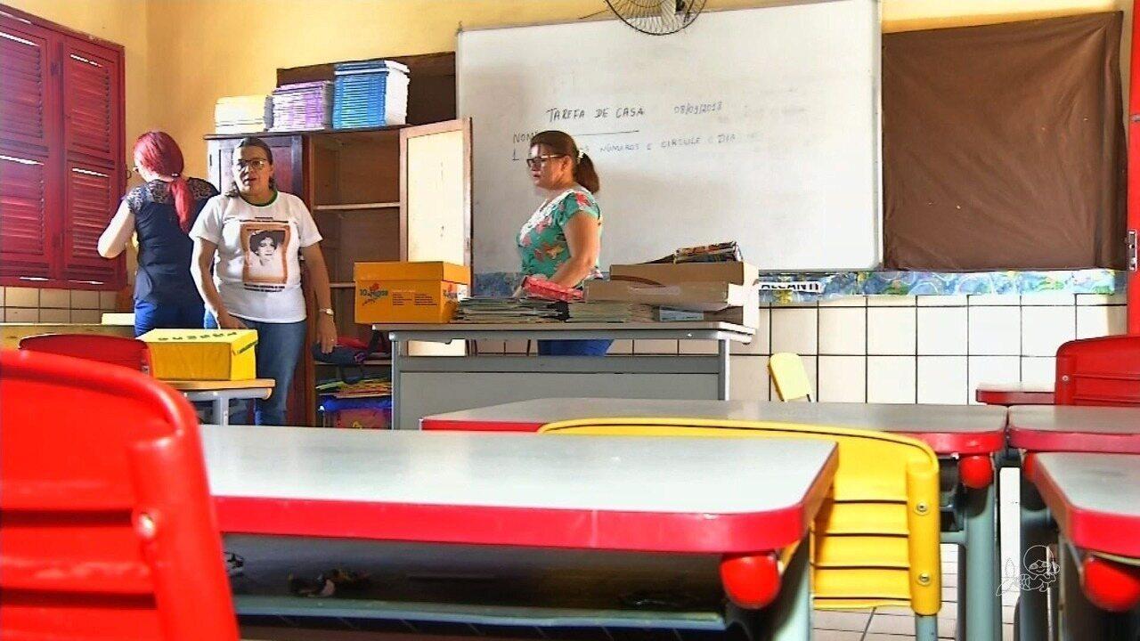 Escola de Cedro suspende aula após transferência de presos para cadeia próxima