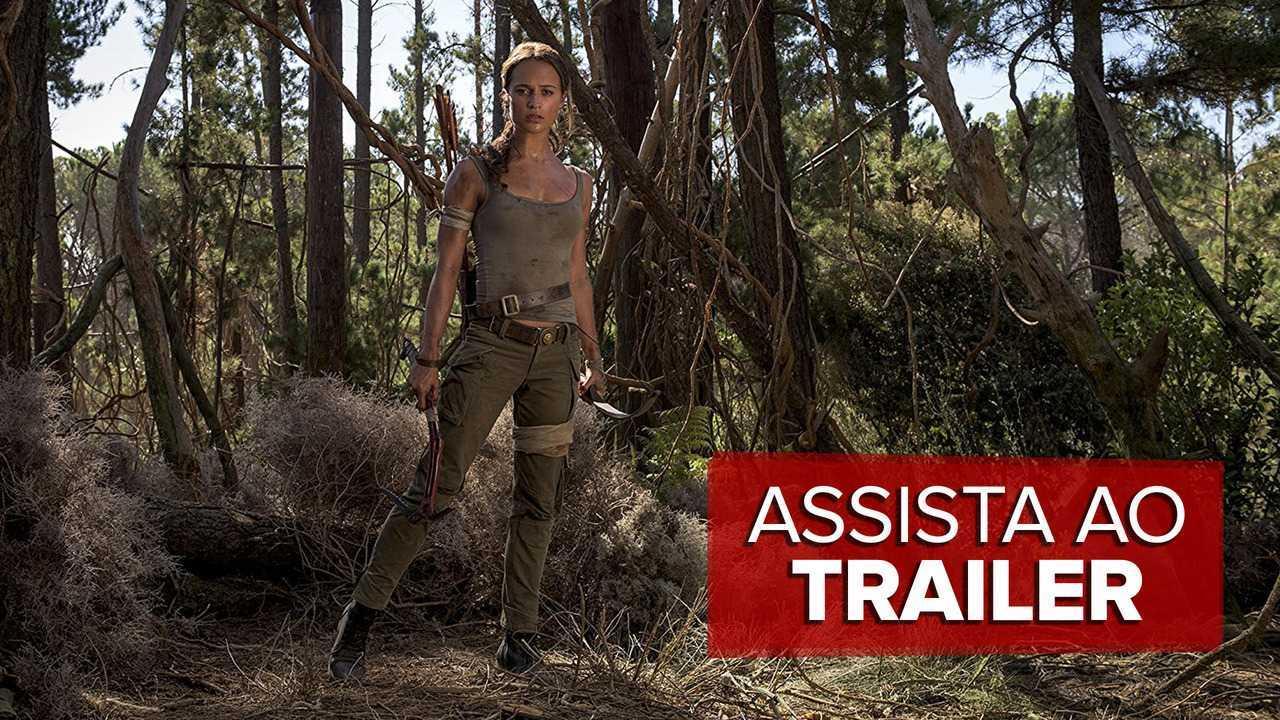 Veja o trailer de 'Tomb Raider – A origem