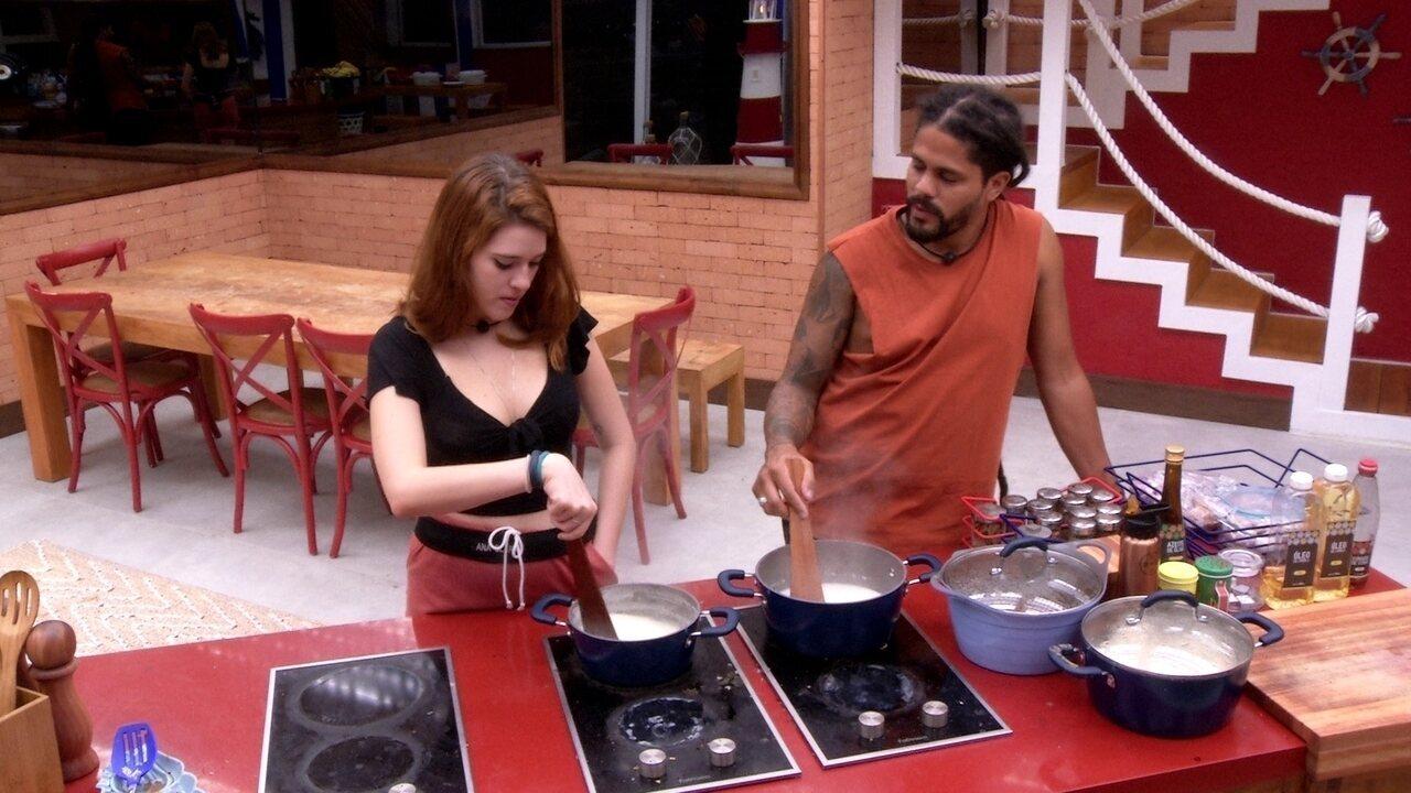 Viegas e Ana Clara conversam sobre afinidades dentro da casa