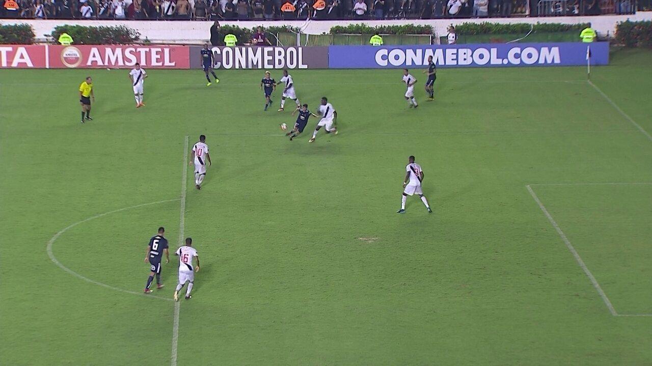 Melhores momentos: Vasco 0 x 1 Universidad de Chile pela 1ª rodada da Taça Libertadores