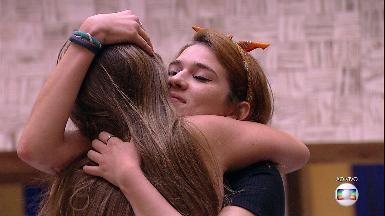 Patrícia se despede dos brothers: 'Estou saindo em paz, do jeito que entrei'