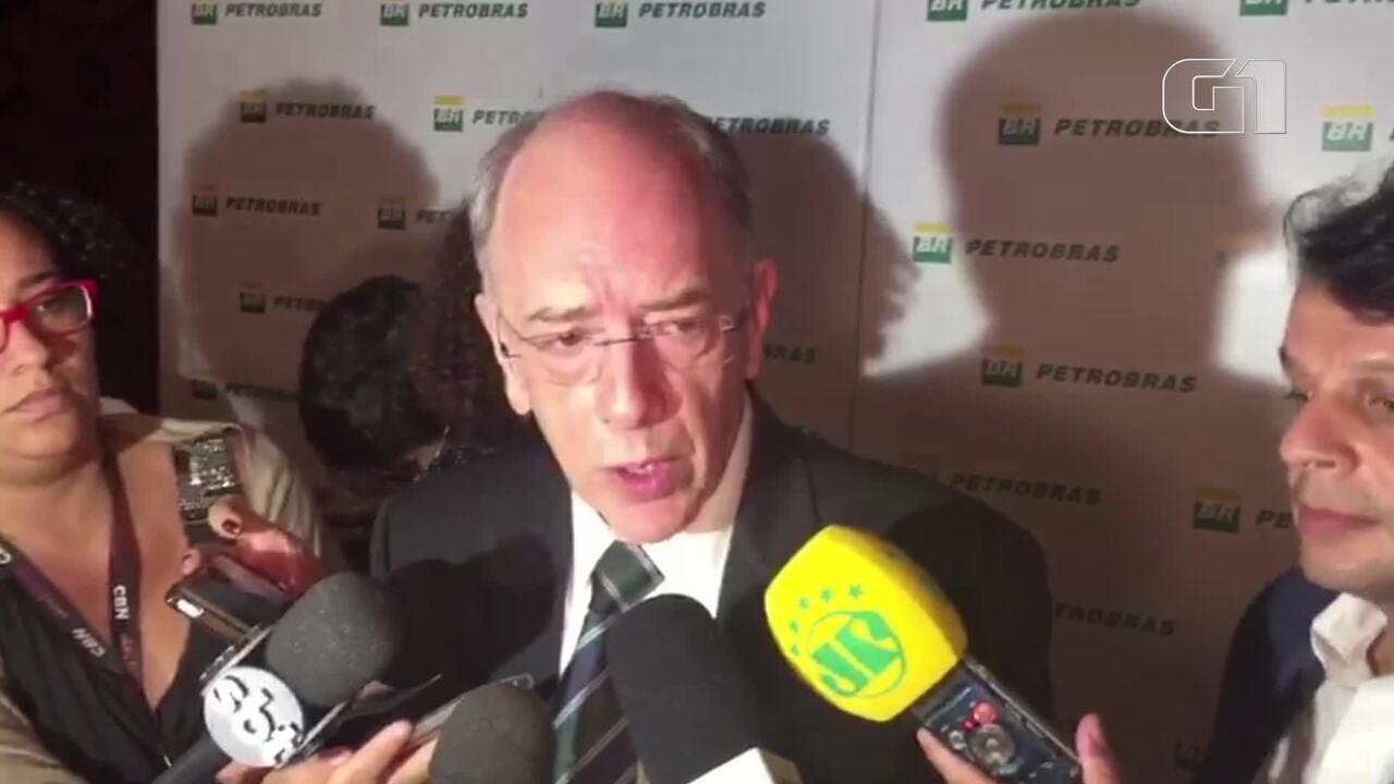 Parente diz que, apesar de prejuízo, Petrobras melhora 'trimestre a trimestre'