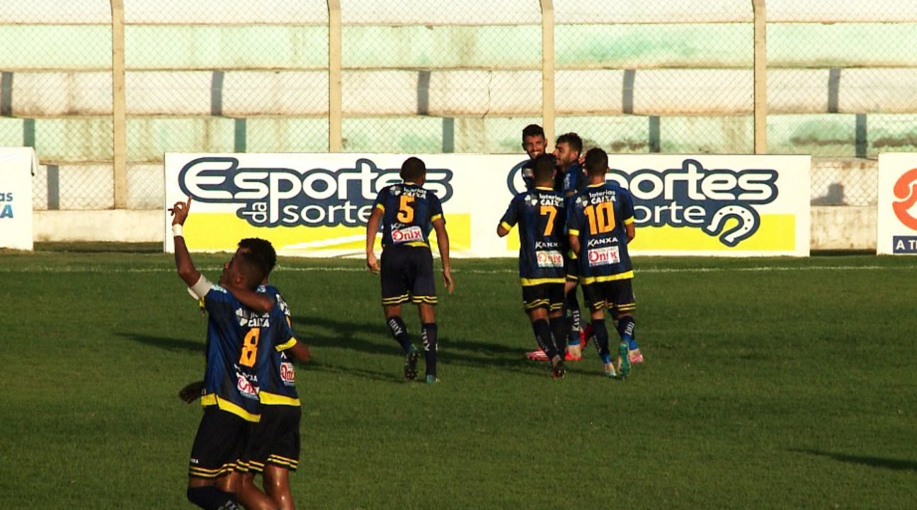 822212c30d Os gols de Altos 4 x 0 4 de Julho pela oitava rodada do Campeonato Piauiense