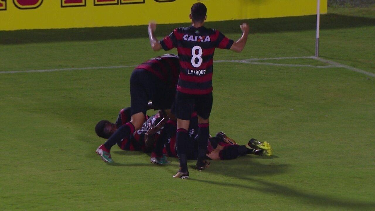 09d23da76783e Os gols de Vitória 3 x 0 Bragantino pela terceira fase da Copa do Brasil