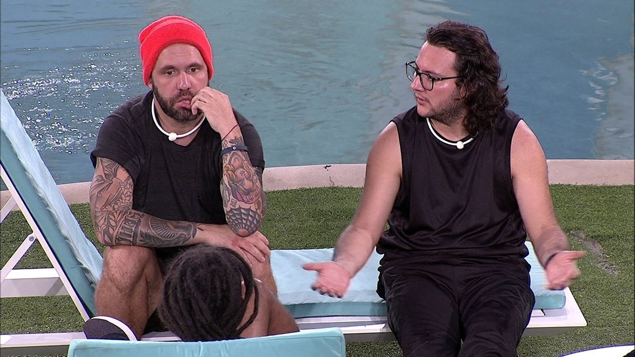 Diego diz que Kaysar queria votar em Paula e Caruso afirma que a sister é a sua opção