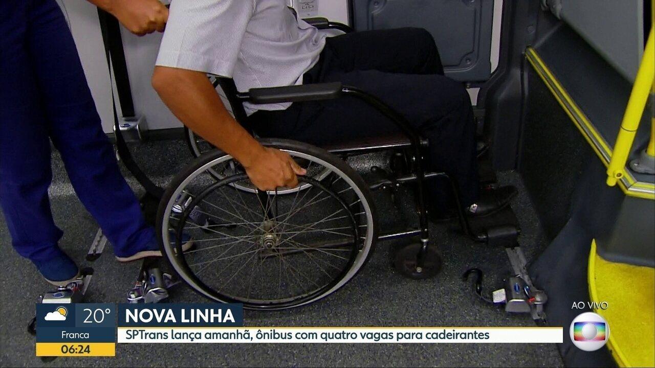Resultado de imagem para Ônibus com vagas para 4 cadeirantes atenderão Zona Sul a partir de sábado