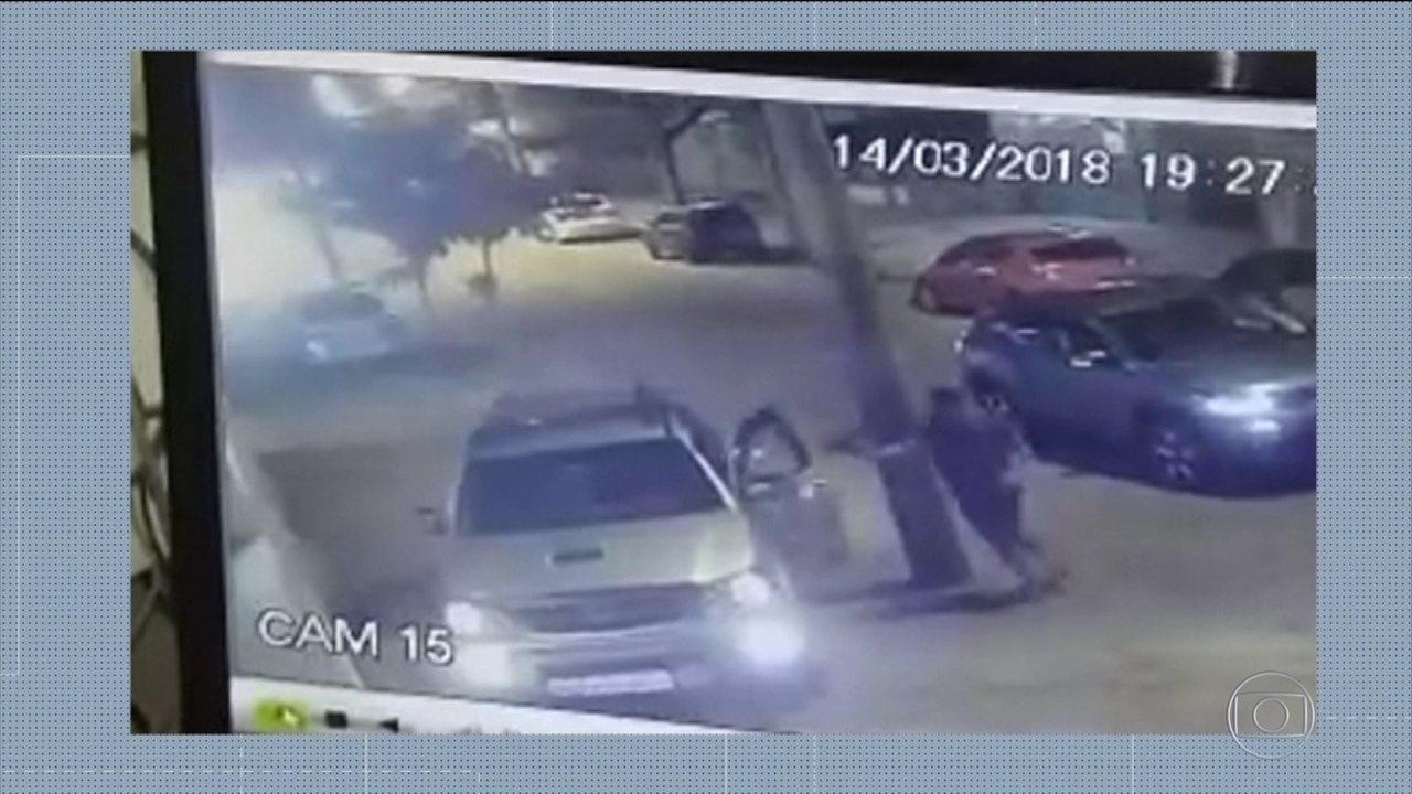 Câmeras de segurança registram assalto que terminou na morte de empresário no Rio