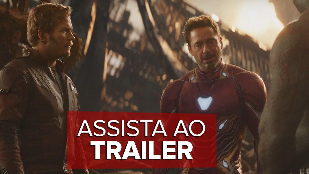 Novo trailer de 'Vingadores: Guerra infinita'
