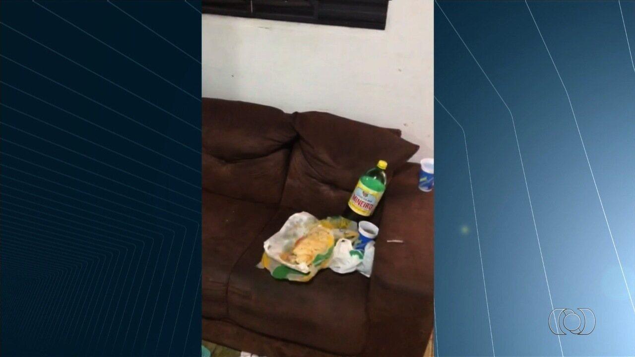 Casal é achado morto e com as mãos amarradas dentro de casa, em Goiânia