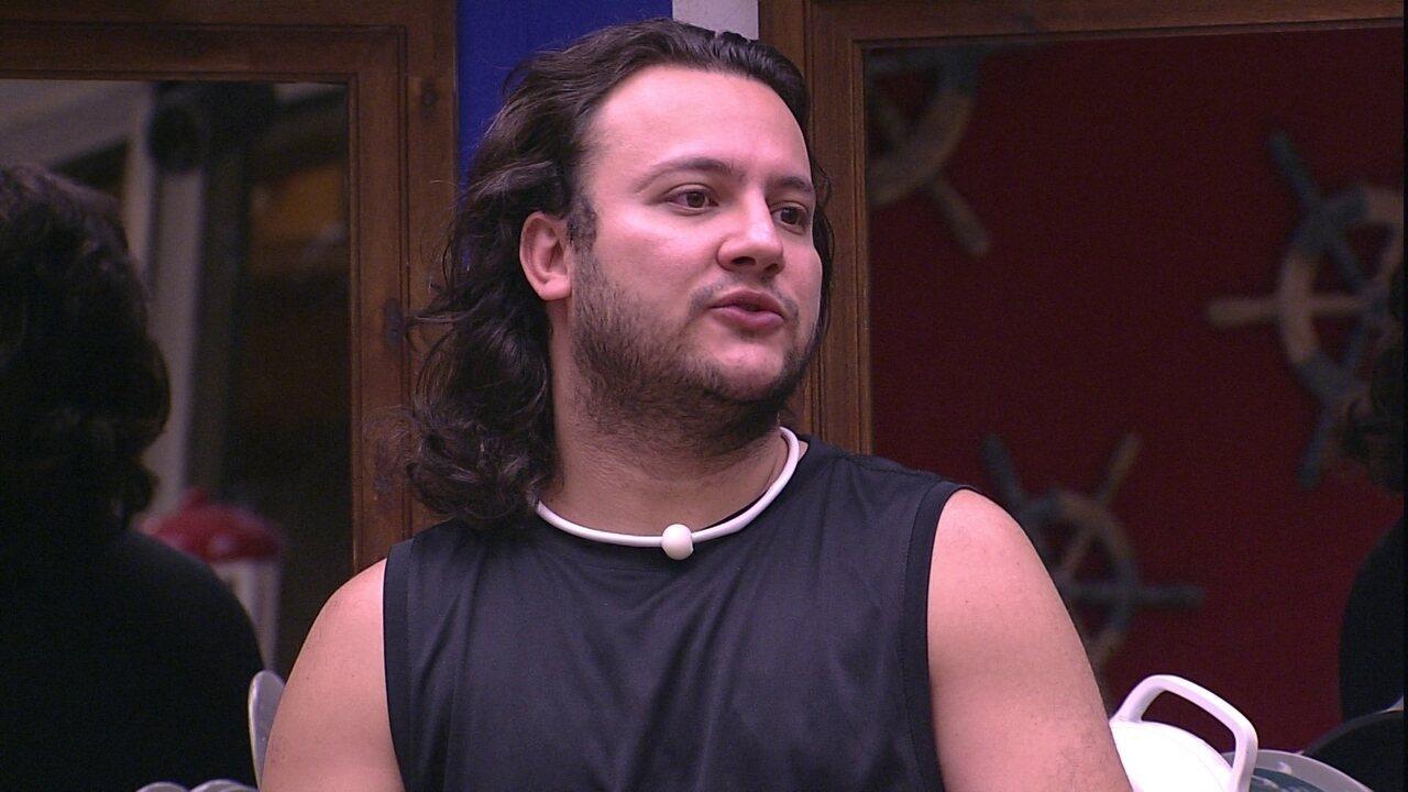 Diego fala de Gleici para Wagner: 'Eu pensei que não ia ficar magoado'