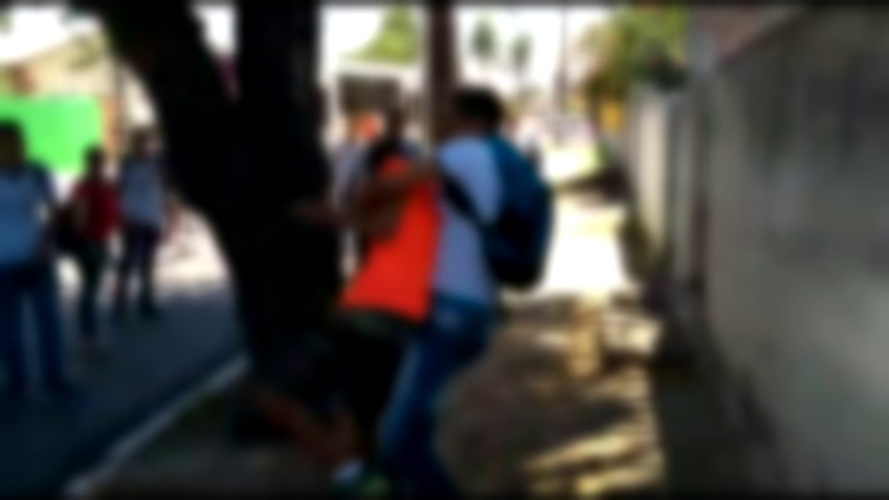 Briga aconteceu em frente  à Escola de Referência em Ensino Médio Aníbal Falcão