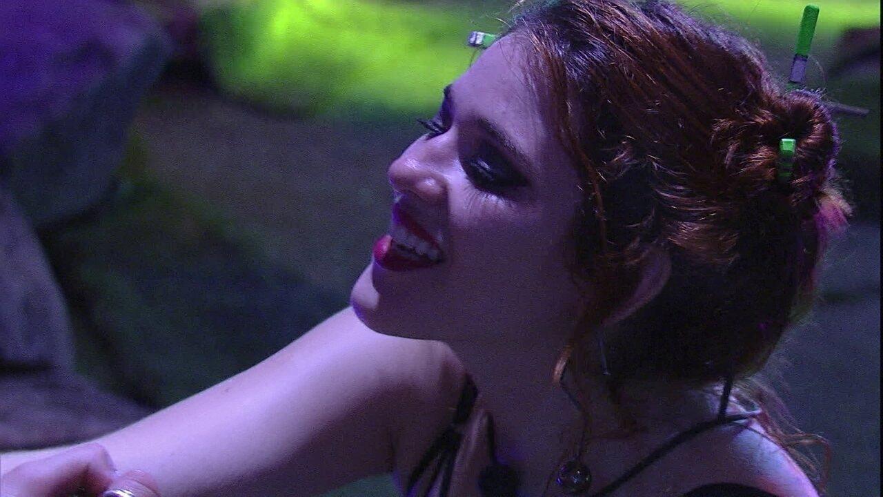 Ana Clara sobre brothers respeitarem Ayrton: 'O que me deixa feliz é isso'