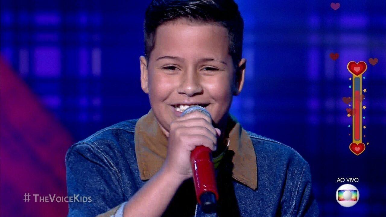 Luan Gabriel canta sucesso sertanejo 'Coração Apertado'