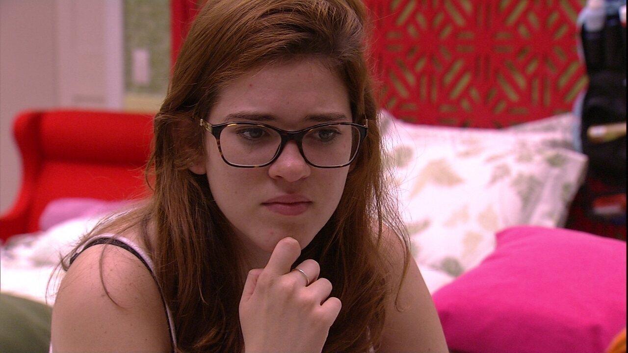 Ana Clara relembra conversa com Patrícia sobre Breno