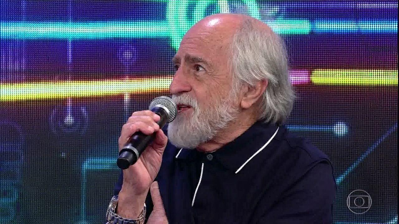 Antes do 'Ding Dong', Ary Fontoura ainda foi homenageado no palco do 'Domingão'