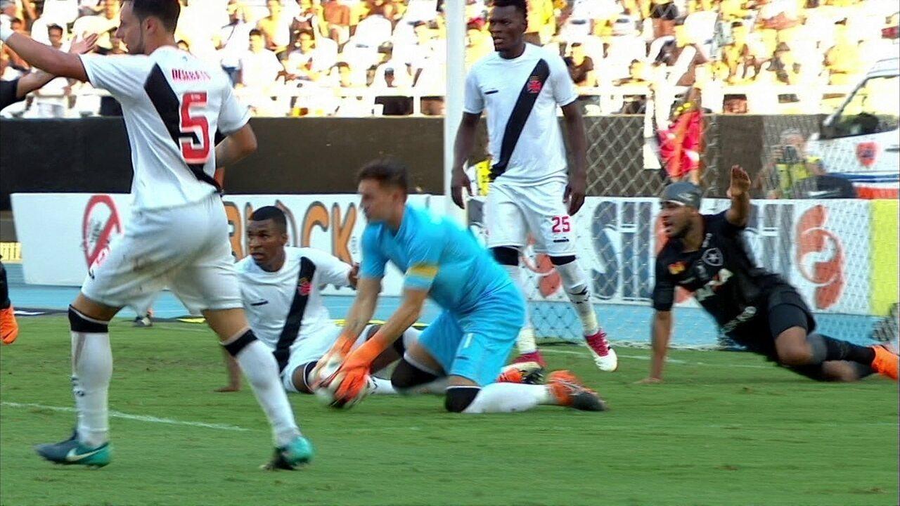 Melhores momentos: Botafogo 2 x 3 Vasco pela 6ª rodada da Taça Rio do Campeonato Carioca