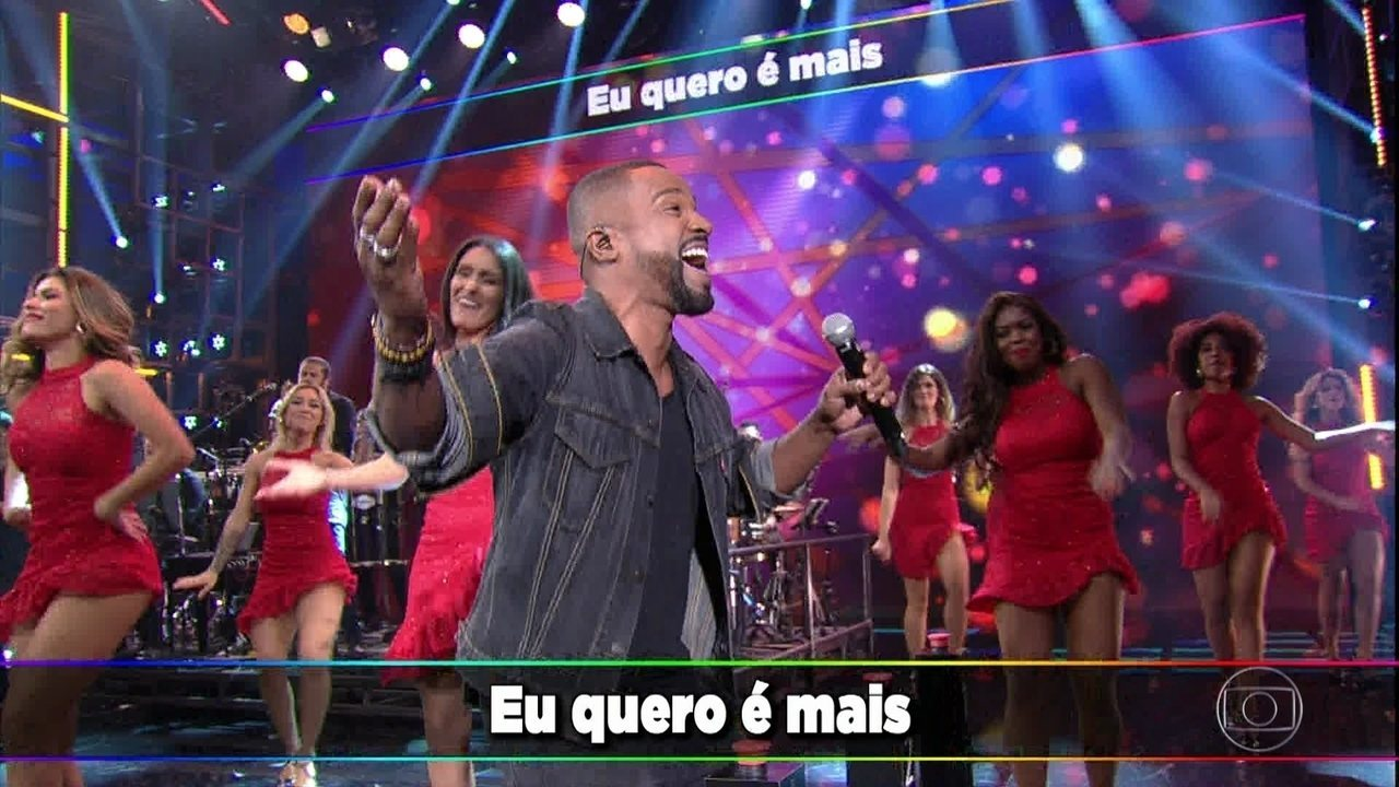 Alexandre Pires apresenta sucessos do 'Baile do Nêgo Véio'