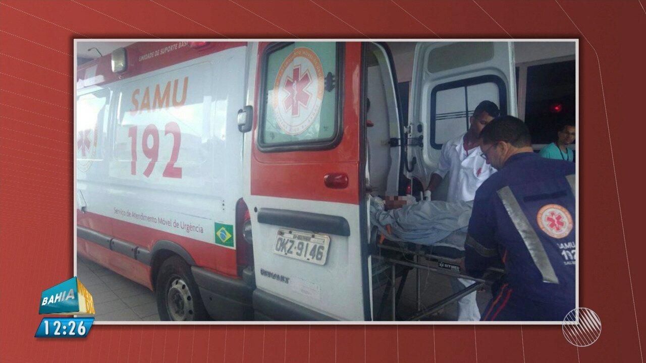 Homem esfaqueia a ex-mulher dentro do Hospital Martagão Gesteira, em Salvador