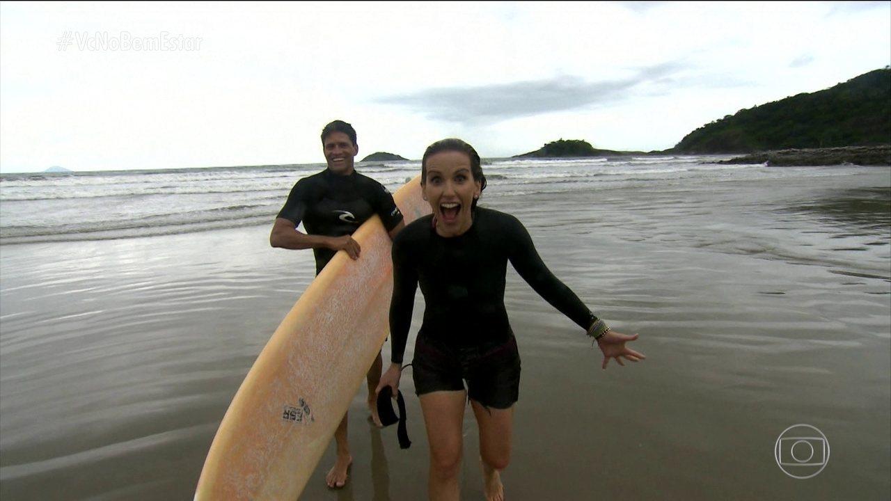 Mari Ferrão cumpre mais algumas metas na série 'Entre nessa onda'