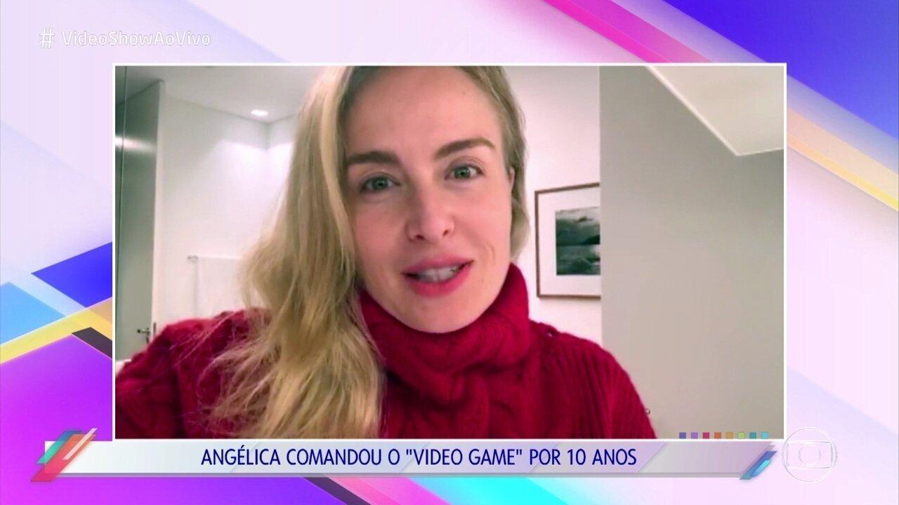Angélica manda recado para o 'Vídeo Show'