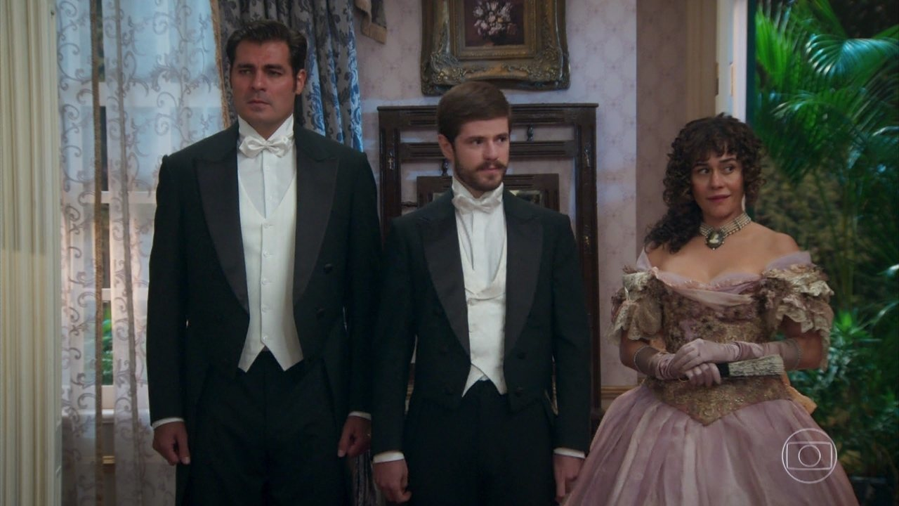 Quando Camilo é apresentado às irmãs Benedito, logo seu olhar cruza com o de Jane! 🖤🖤🖤