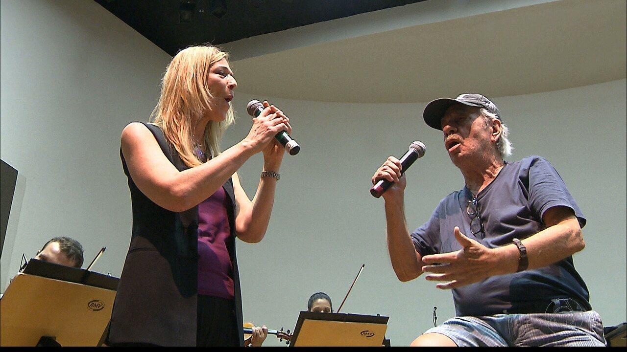 Orquestra Sinfônica da Paraíba se apresenta com o cantor e compositor Geraldo Vandré