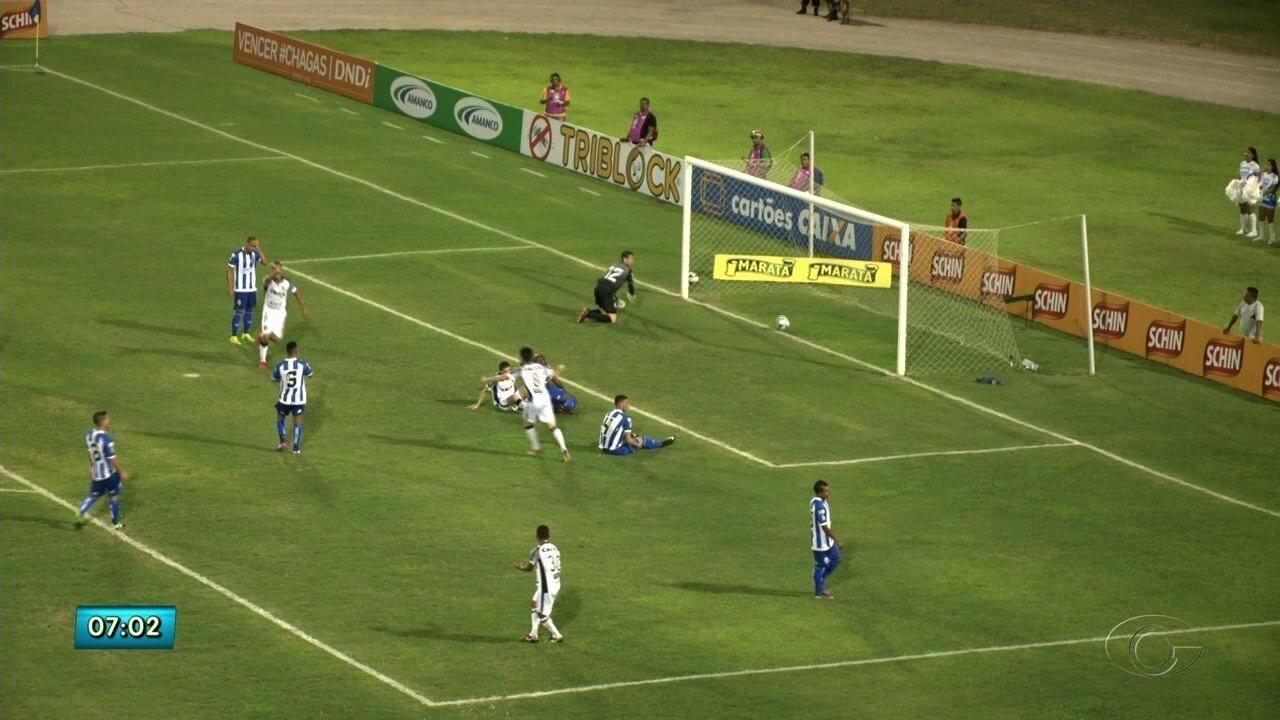 CSA empata com o Ceará e é eliminado da Copa do Nordeste