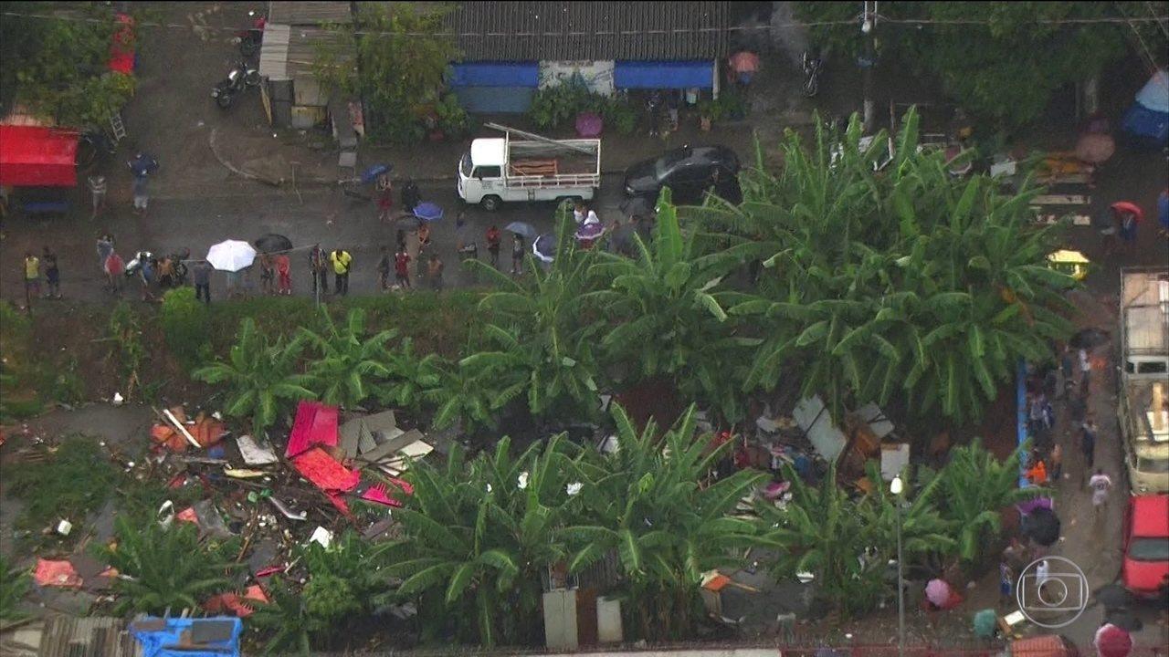 Temporal deixa três mortos e provoca prejuízos em São Paulo