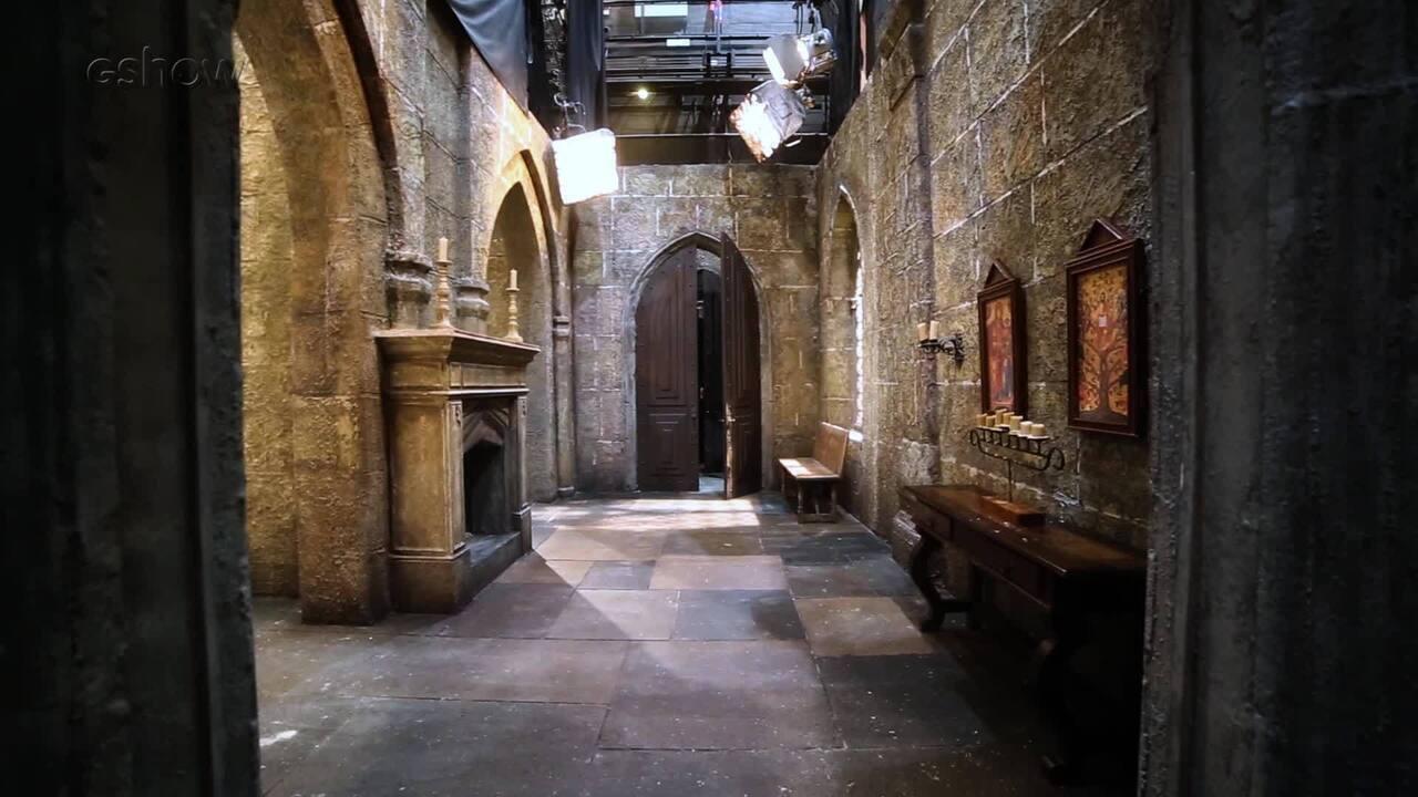 Conheça os cenários do convento onde Lucrécia agora vive