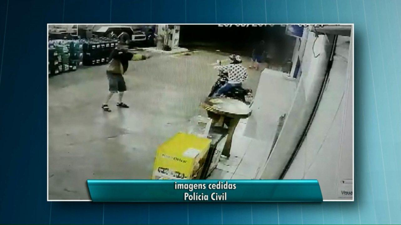 Policial morre durante tentativa de assalto em posto de combustível