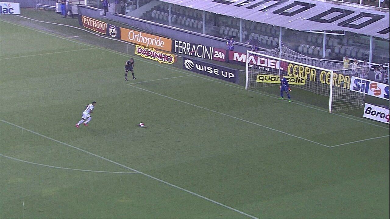 Melhores momentos: Santos 0 (3) x (1) 0 Botafogo-SP pelas quartas de final do Paulistão