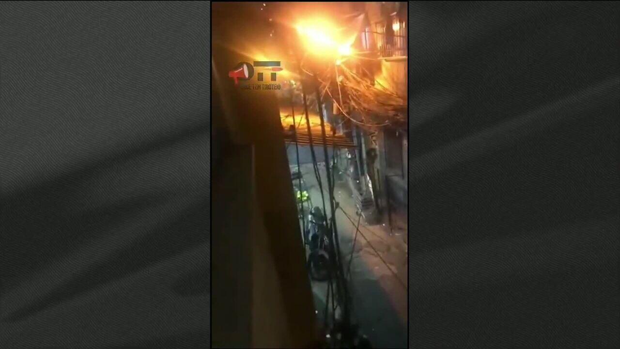 PM e morador morrem durante troca de tiros na Rocinha, no Rio