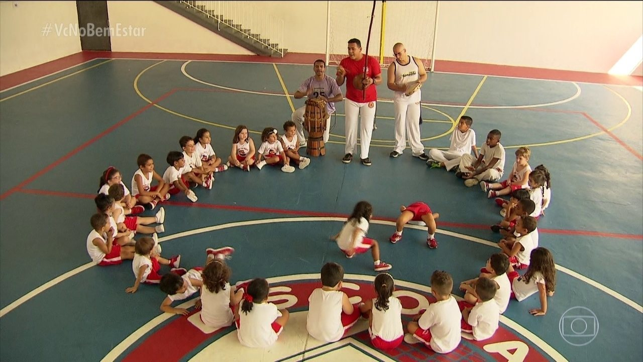 Capoeira traz benefícios para mente e corpo