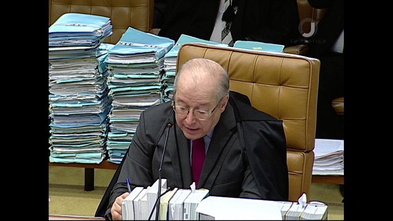 Celso de Mello vota em julgamento de pedido de habeas corpus de Lula no STF