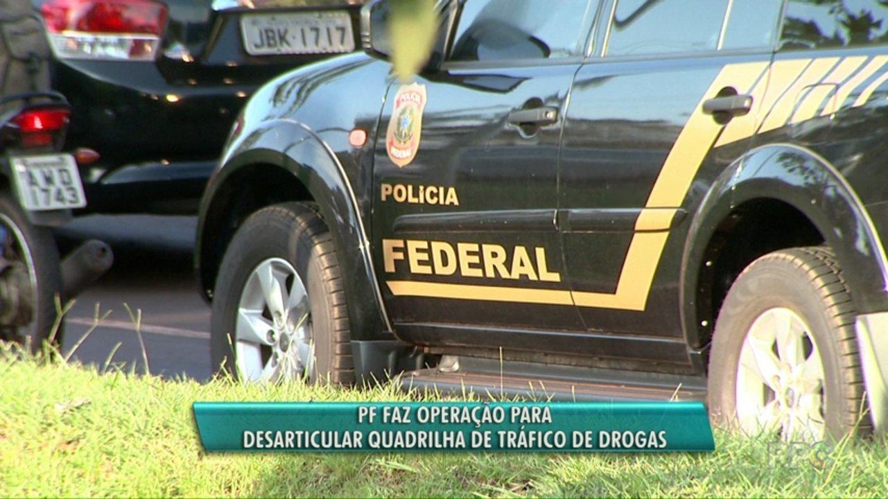 Polícia Federal prende suspeitos em operação contra o tráfico de drogas