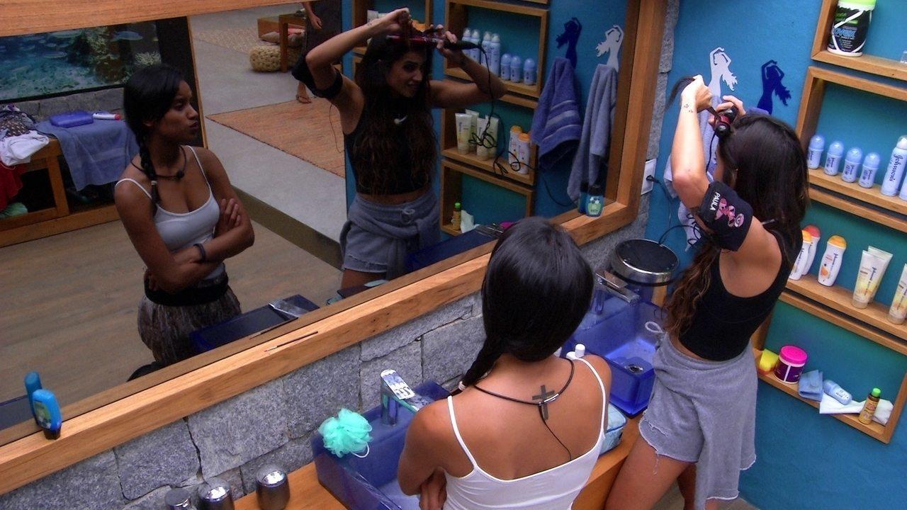 Paula reclama de não ter vencido Prova do Anjo: 'Queria ganhar de todo jeito'