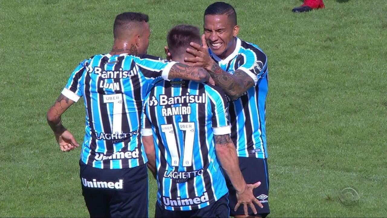 Confira os melhores momentos de Avenida 0 x 3 Grêmio e26dddf89415e
