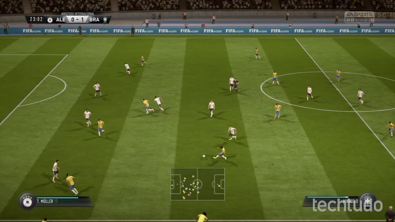 FIFA 18 - Simulação do Amistoso entre Brasil X Alemanha