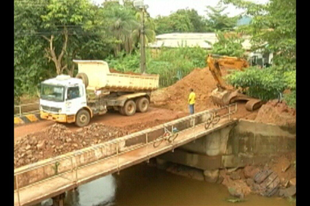 Fortes chuvas estão provocando transtornos em Parauapebas