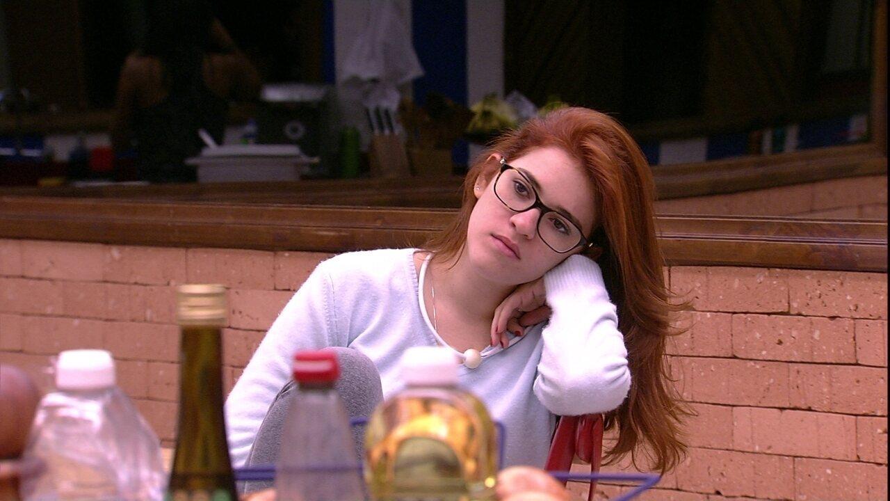 Gleici elogia cabelo de Ana Clara: 'Está muito lindo'