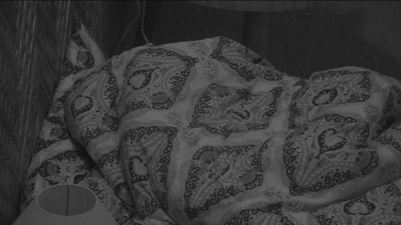 Wagner dorme no Bangalô do Líder