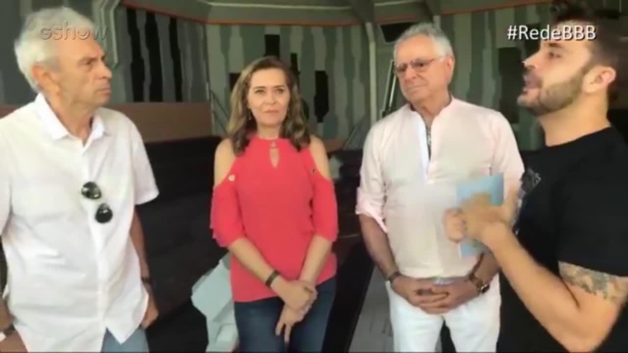Boletim BBB: Famílias de Caruso, Família Lima e Kaysar respondem perguntas