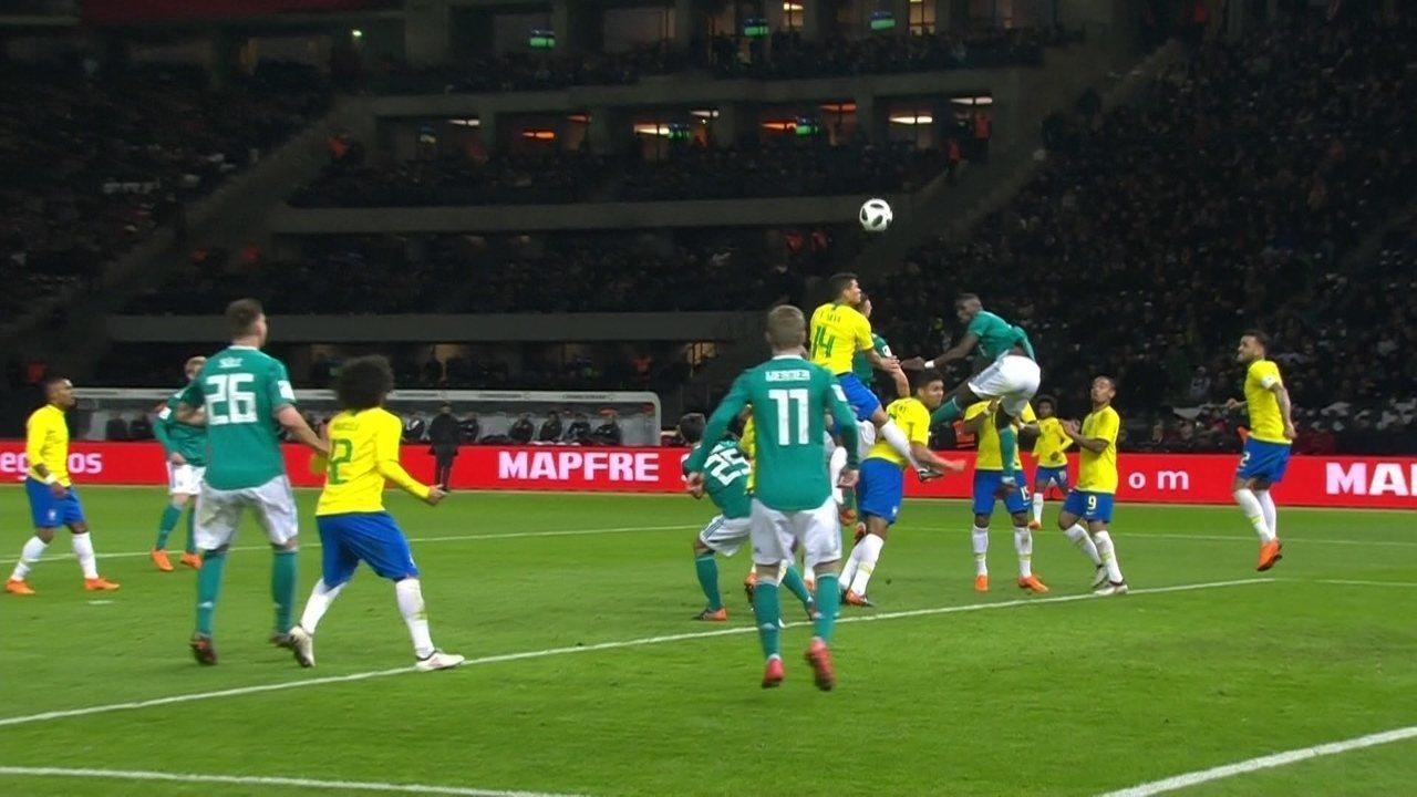 Melhores momentos: Alemanha 0 x 1 Brasil em amistoso internacional